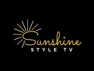 Sunshine Style TV logo design