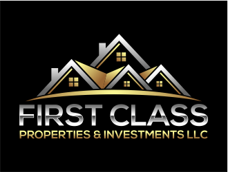 First Class Properties & Investments LLC logo design