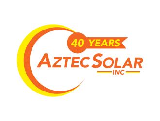 Aztec Solar Inc logo design