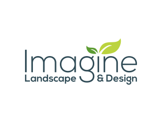 Imagine Landscape & Design logo design