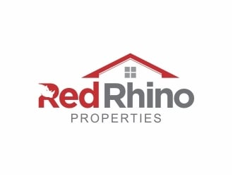 Red Rhino Properties logo design