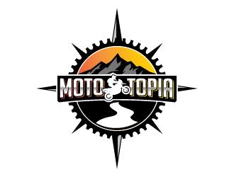 MotoTopia logo design
