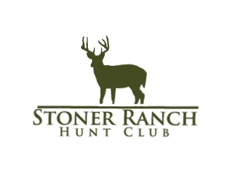 Stoner Ranch Hunt Club logo design