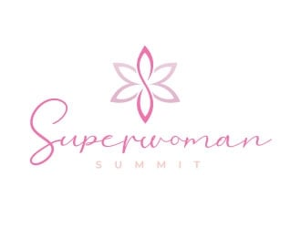 Superwoman logo design