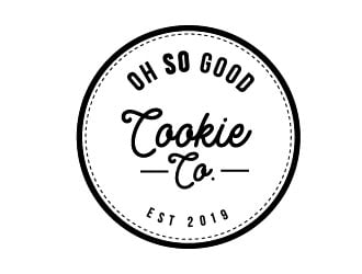 OH SO GOOD COOKIE CO logo design winner