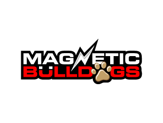 Magnetic Bulldogs logo design
