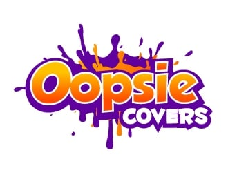 Oopsie Covers  logo design