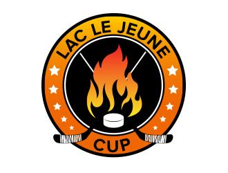 Lac Le Jeune Cup logo design by BeDesign