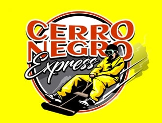 Cerro Negro Express logo design