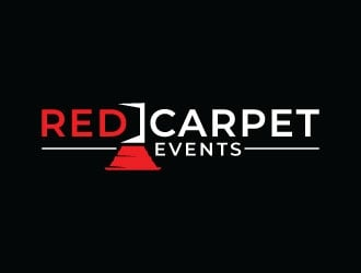 Red Carpet Events logo design