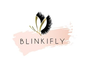 Blinkifly logo design