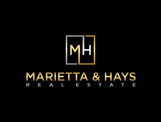 Marietta & Hays Real Estate  logo design