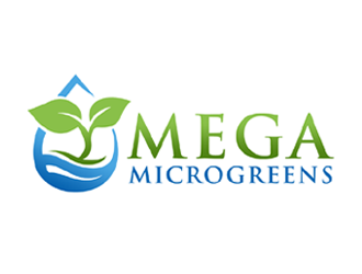 Mega Microgreens logo design winner