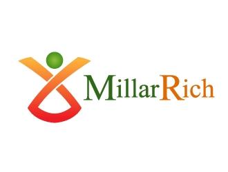 MillarRich  logo design