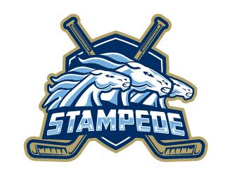 STAMPEDE logo design by IanGAB
