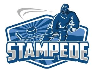 STAMPEDE logo design by MAXR