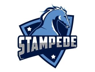 STAMPEDE logo design by Mardhi