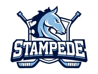 STAMPEDE logo design by daywalker