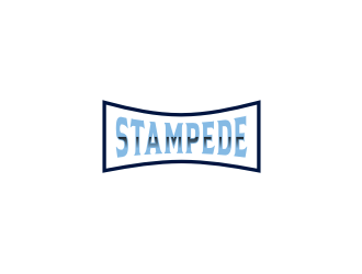 STAMPEDE logo design by bricton