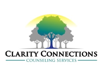 Clarity Connections Counseling Services logo design
