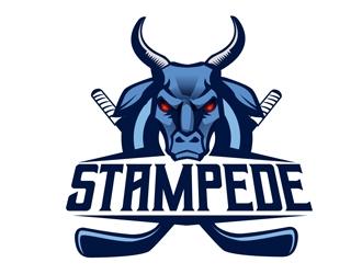 STAMPEDE logo design by DreamLogoDesign