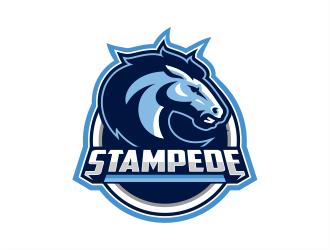 STAMPEDE logo design by evdesign