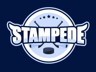 STAMPEDE logo design by BeDesign