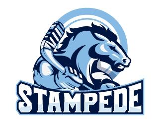 STAMPEDE logo design by dorijo