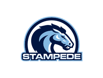STAMPEDE logo design by blessings