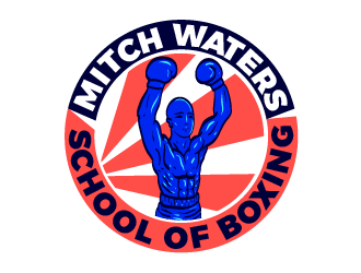 Mitch Waters School Of Boxing logo design by justin_ezra