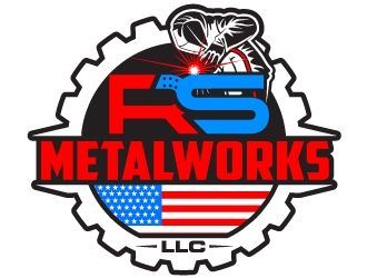 RS Metalworks LLC logo design winner