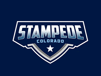 STAMPEDE logo design by Optimus