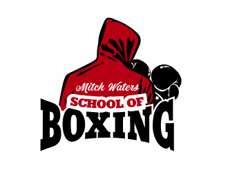 Mitch Waters School Of Boxing logo design by cgage20