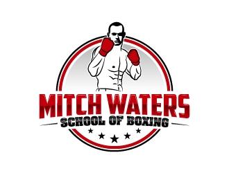 Mitch Waters School Of Boxing logo design by karjen