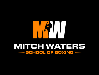 Mitch Waters School Of Boxing logo design by Girly