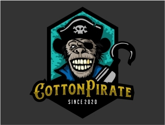 CottonPirate logo design