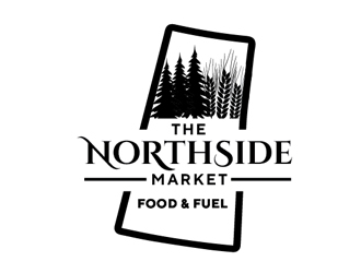 The Northside Market logo design by Roma