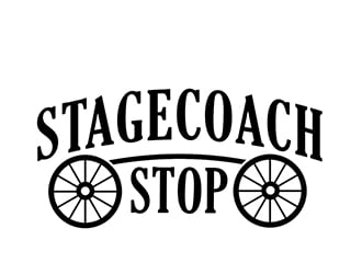 Stagecoach Stop logo design