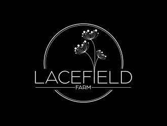Lacefield Farm logo design