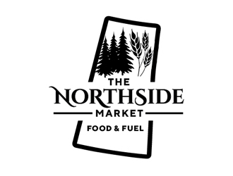 The Northside Market logo design
