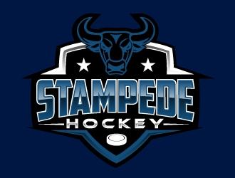 STAMPEDE logo design by AamirKhan