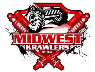 Midwest Krawlers logo design winner