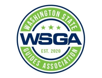 Washington State Guides Association logo design winner