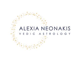 Alexia Neonakis Vedic Astrology  logo design