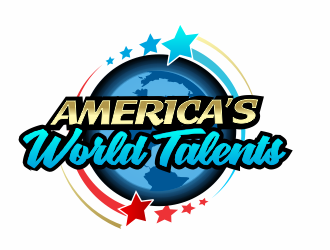 Americas World Talents logo design
