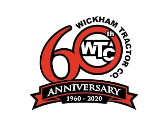 Wickham Tractor Co. logo design