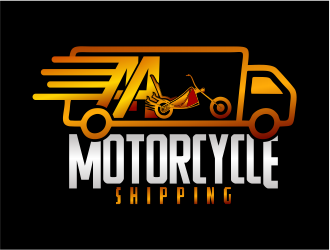 AA Motorcycle Shipping Logo Design