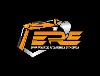 ERE Environmental Reclamation Excavation logo design winner
