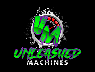Unleashed Machines logo design