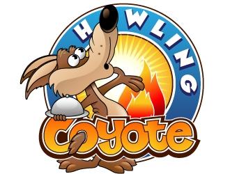 Howling Coyote logo design